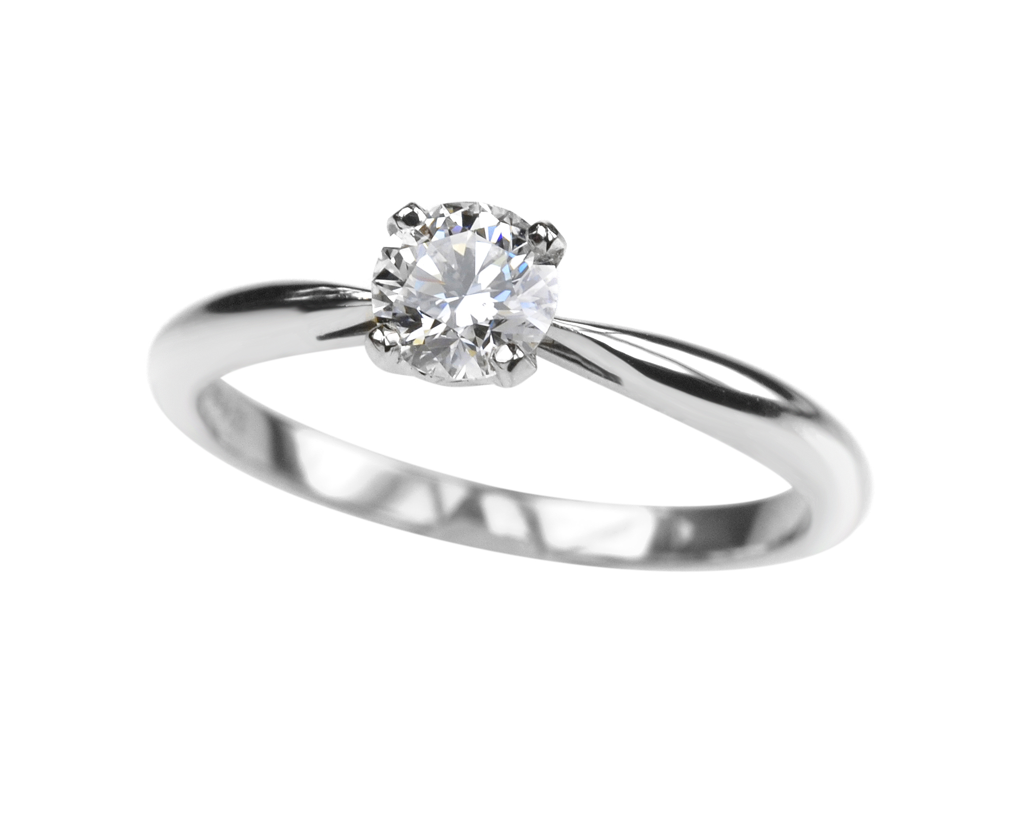 diamond nordic ring rings light en round dimond engagement solitaire birks